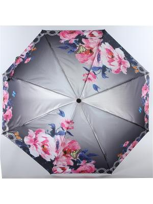 Зонт Magic Rain. Цвет: серый, розовый, темно-синий