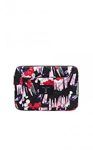 Сумка knot crystal spot для ноутбука диагональю 13 Marc Jacobs. Цвет: черный