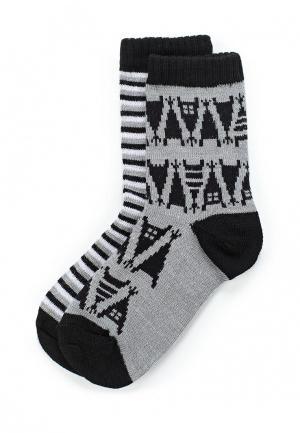 Комплект носков 2 пары Reima. Цвет: серый