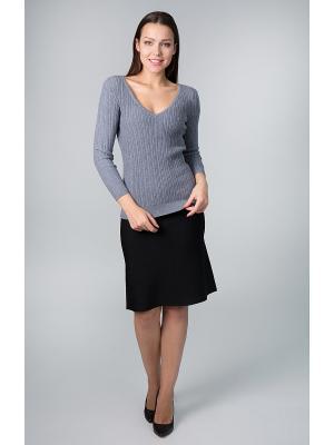 Пуловер Sharvell. Цвет: серый