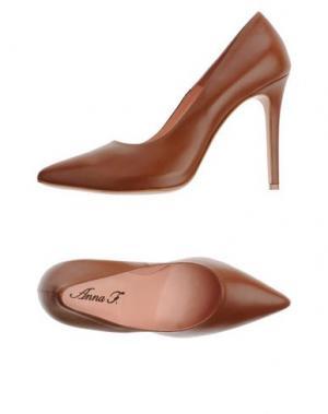 Туфли ANNA F.. Цвет: коричневый