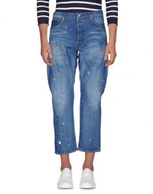 Джинсовые брюки YMC YOU MUST CREATE. Цвет: синий