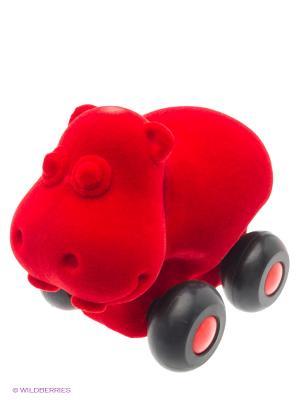Бегемот Rubbabu. Цвет: красный