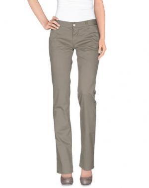 Повседневные брюки 2TWO. Цвет: серый