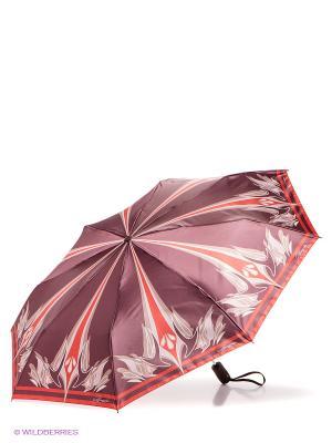 Зонт Eleganzza. Цвет: бордовый, красный