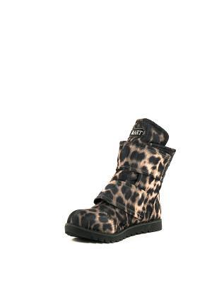 Ботинки AZ-ART. Цвет: фиолетовый, бежевый