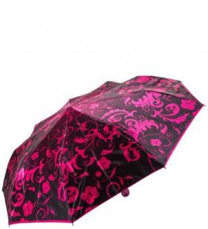 Складной зонт с сатиновым куполом Zest. Цвет: цветочный принт