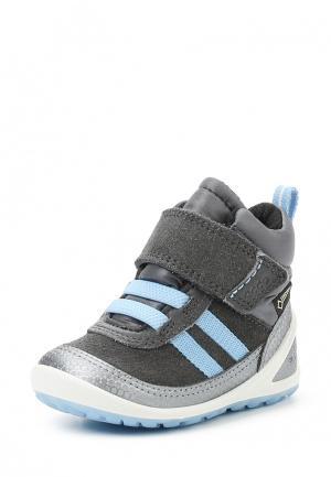 Ботинки BIOM LITE INFANTS BOOT ECCO. Цвет: серый