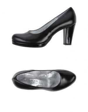 Туфли J.J.DELACROIX. Цвет: черный