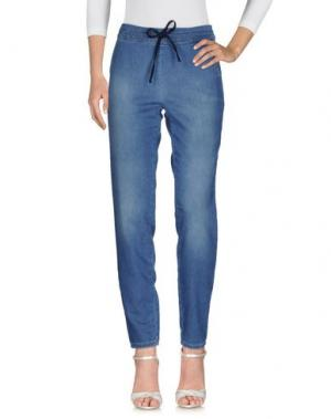 Джинсовые брюки TWENTY EASY by KAOS. Цвет: синий