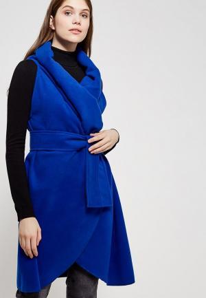 Пончо Magwear. Цвет: синий