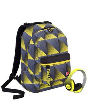 Рюкзаки и сумки на пояс SEVEN. Цвет: желтый