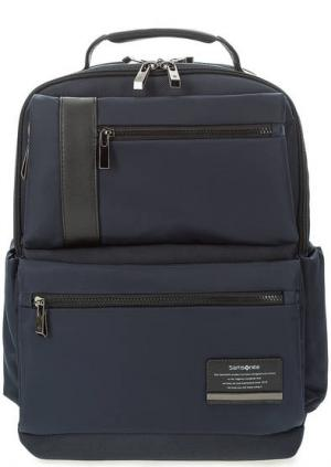 Синий текстильный рюкзак с двумя отделами Samsonite. Цвет: синий