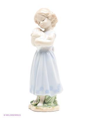 Статуэтка Друзья Pavone. Цвет: светло-голубой, бежевый