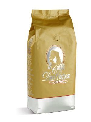 Don Cortez Gold 1 кг кофе в зернах CARRARO. Цвет: коричневый