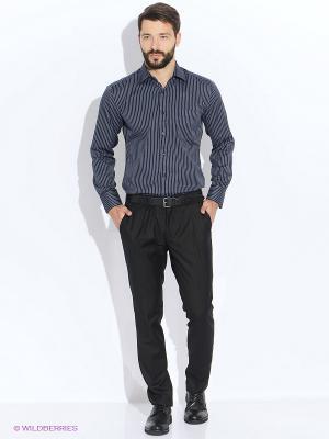 Рубашка мужская LIVANSO. Цвет: темно-синий