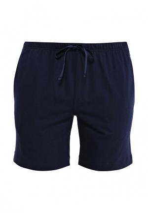 Шорты домашние Polo Ralph Lauren. Цвет: синий