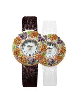 Часы Mikhail Moskvin. Цвет: светло-зеленый, рыжий, темно-фиолетовый