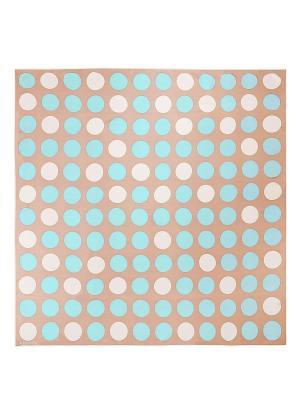 Платок Eleganzza. Цвет: светло-голубой, бежевый, молочный