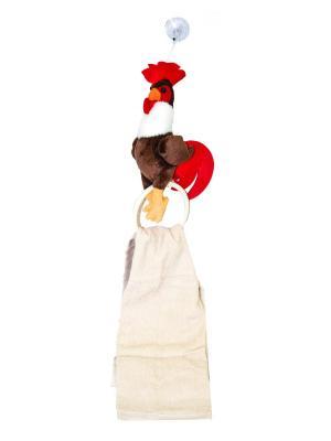 Комплект игрушка петушок с полотенцем 29*68 см. Dorothy's Нome. Цвет: коричневый
