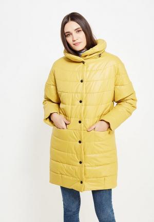 Куртка утепленная J-Splash. Цвет: желтый