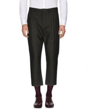 Повседневные брюки CHOICE NICOLA PELINGA. Цвет: темно-зеленый