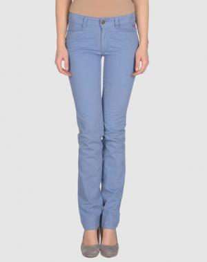 Повседневные брюки GB8. Цвет: пастельно-синий