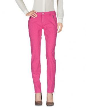 Повседневные брюки MASON'S. Цвет: фуксия