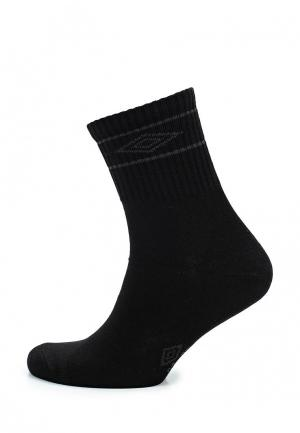 Носки Umbro. Цвет: черный