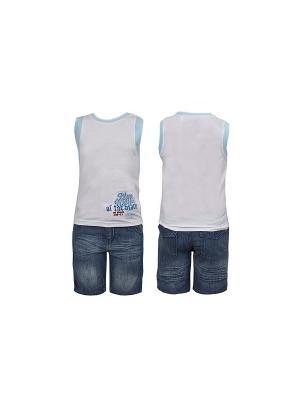 Комплект одежды WWW. Цвет: синий