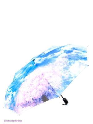 Зонт RAINDROPS. Цвет: голубой