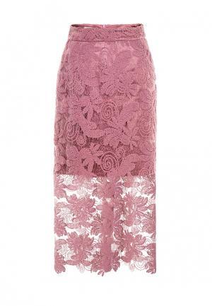 Юбка JN. Цвет: розовый