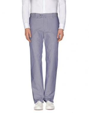 Повседневные брюки ADOLFO DOMINGUEZ. Цвет: синий