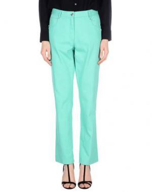 Джинсовые брюки GIORGIO GRATI. Цвет: светло-зеленый