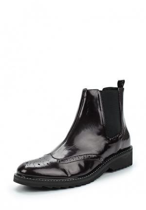Ботинки Obsel. Цвет: коричневый