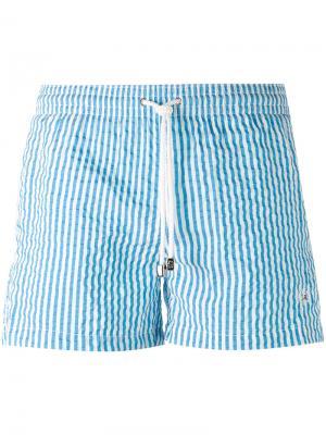 Шорты для плавания Borrelli. Цвет: синий