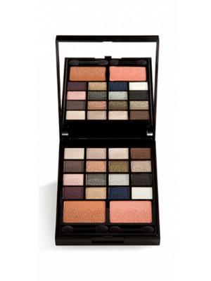 Набор для макияжа LACE GA-DE. Цвет: бежевый, белый, коричневый, синий, сливовый, терракотовый