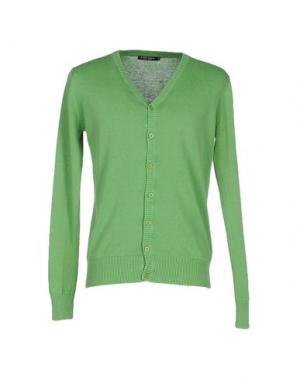 Кардиган CLARK JEANS. Цвет: зеленый