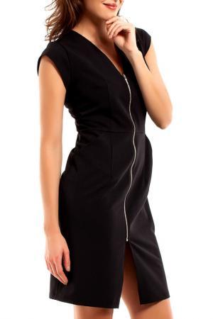 Платье BeWear. Цвет: черный