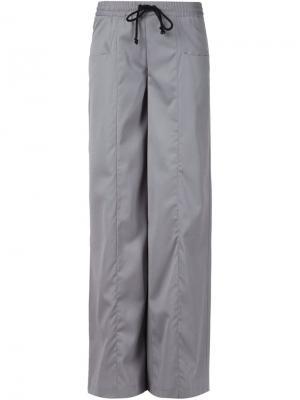 Широкие брюки Ødd.. Цвет: серый