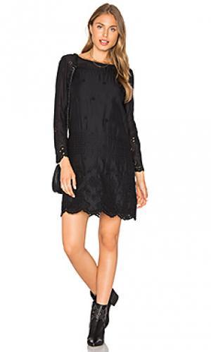 Платье clove Flannel Australia. Цвет: черный
