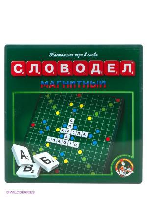Настольная игра Словодел магнитный Десятое королевство. Цвет: зеленый, белый