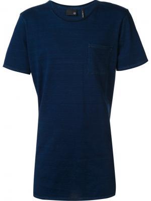 Футболка с круглым вырезом Ag Jeans. Цвет: синий