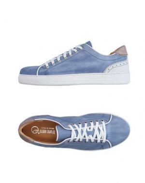 Низкие кеды и кроссовки BRUNO VERRI. Цвет: синий