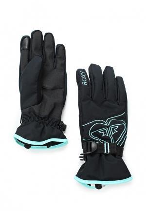 Перчатки горнолыжные Roxy. Цвет: черный