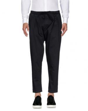Повседневные брюки FALORMA. Цвет: стальной серый