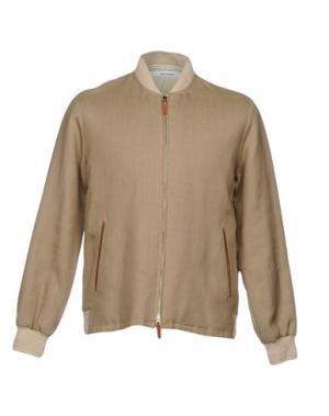 Куртка UMIT BENAN. Цвет: бежевый