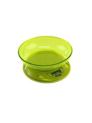 Весы кухонные ELTRON. Цвет: зеленый