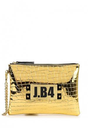 Клатч J.B4. Цвет: золотой