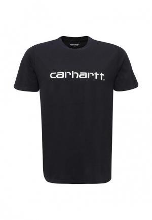 Футболка Carhartt. Цвет: синий